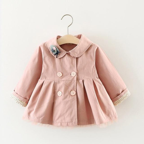 LouLi Hooded Cat Baby Trench Jacket - LouLi - Designed For Your Child