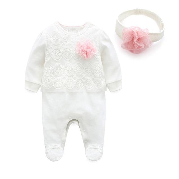 LouLi Little Princess Jumpsuit & Headband Baby Set - LouLi - Designed For Your Child
