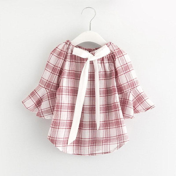 LouLi Lovely Plaid Baby Blouse - LouLi - Designed For Your Child