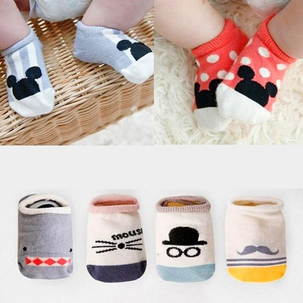LouLi Mickey Cartoon Baby Socks - LouLi - Designed For Your Child