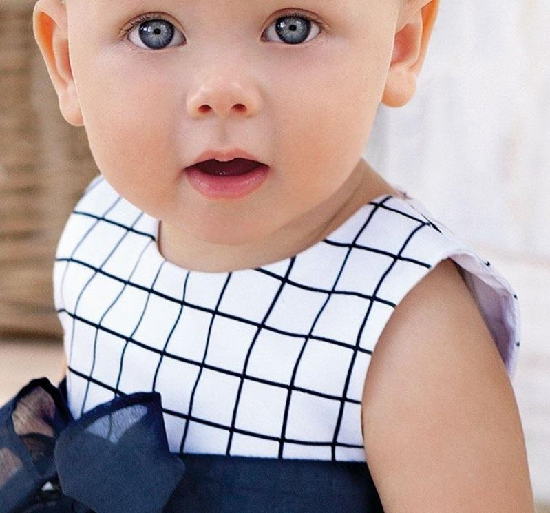 LouLi Minimalistic Plaid Baby Dress - LouLi - Designed For Your Child