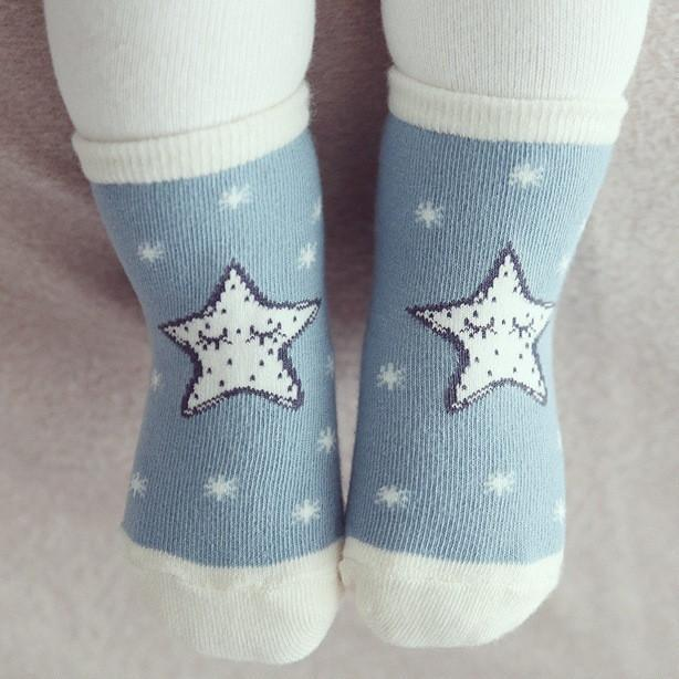 LouLi My Star & Moon Baby Socks - LouLi - Designed For Your Child