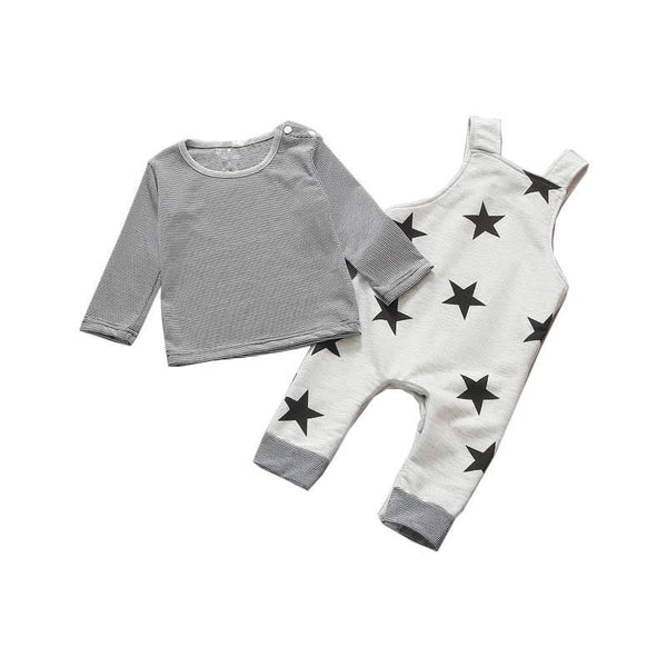 LouLi Reach For The Stars Overall Set - LouLi - Designed For Your Child