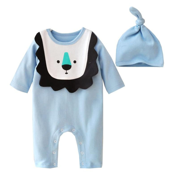 LouLi Roar Like a Baby Romper Set - LouLi - Designed For Your Child