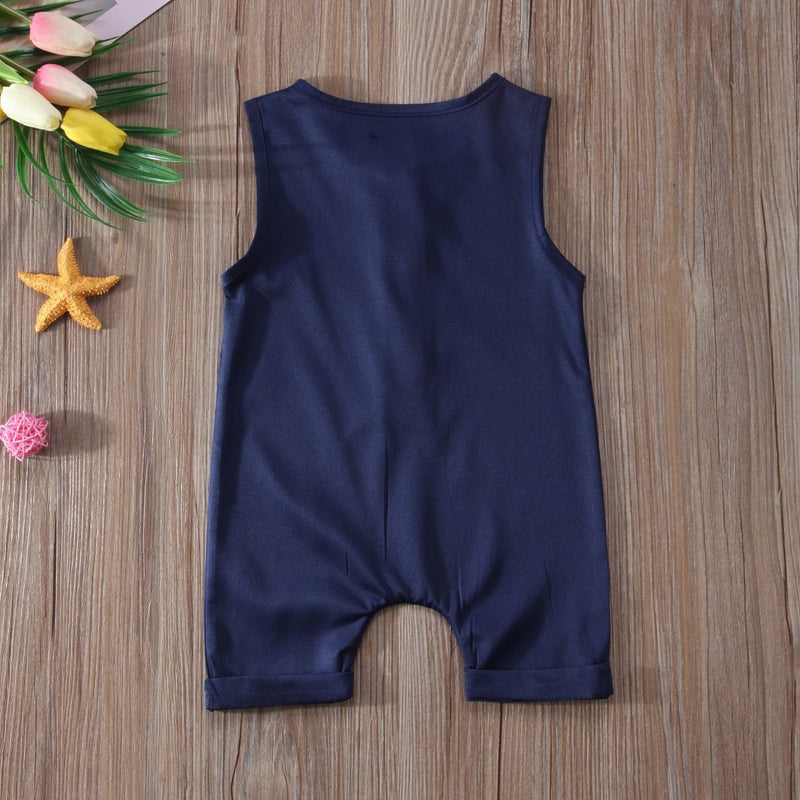 LouLi Sleeveless Loose Baby Romper - LouLi - Designed For Your Child