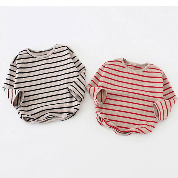 LouLi Striped French Long Sleeves Baby Shirt - LouLi - Designed For Your Child