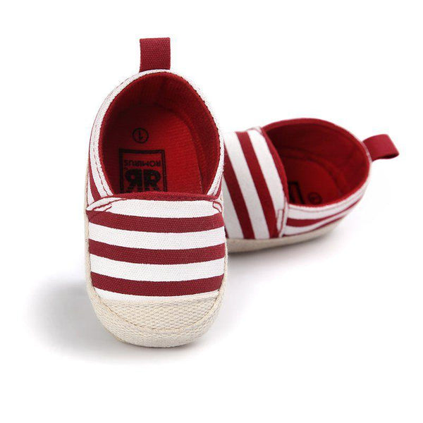 LouLi Striped Slip On Baby Shoes - LouLi - Designed For Your Child
