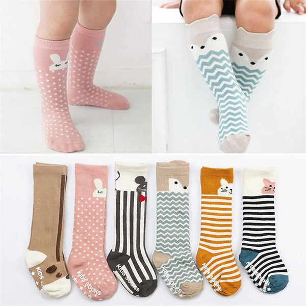 LouLi Walk With Me Knee High Baby Socks - LouLi - Designed For Your Child