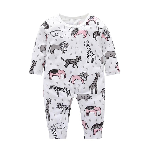 LouLi Welcome To The Jungle Baby Romper - LouLi - Designed For Your Child