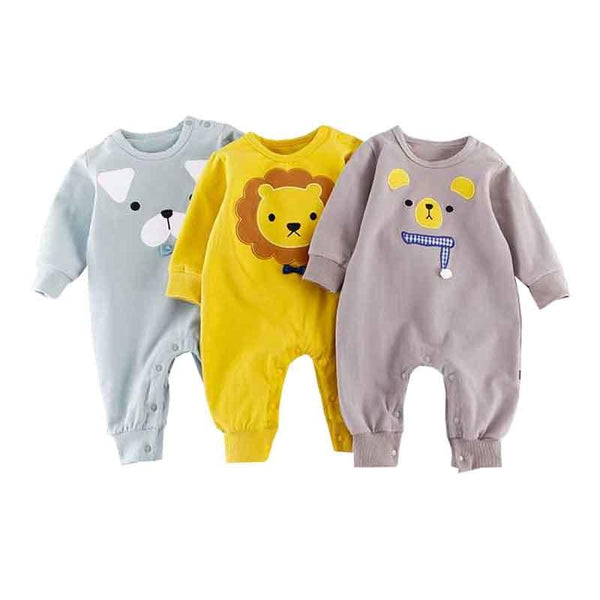 LouLi What Is Your Favorite Animal Baby Romper - LouLi - Designed For Your Child