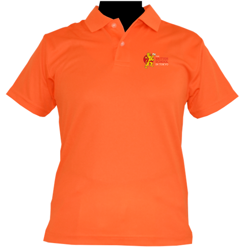 HOUSE POLO SHIRTS ORANGE (AMATERASU)