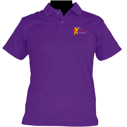 HOUSE POLO SHIRTS PURPLE (TSUKIYOMI)