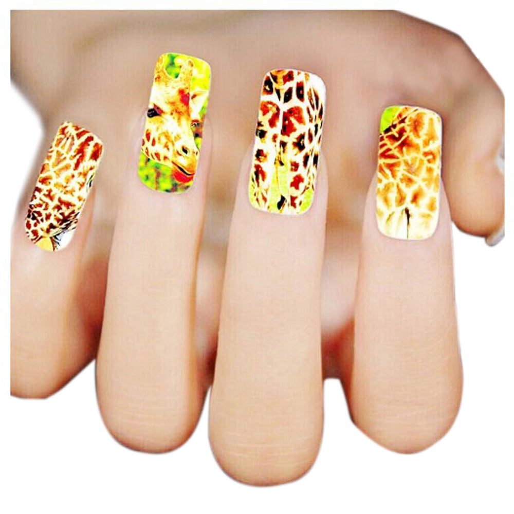 2016 New Fashion Woman 3d Design Nail Art Stickers Tips To