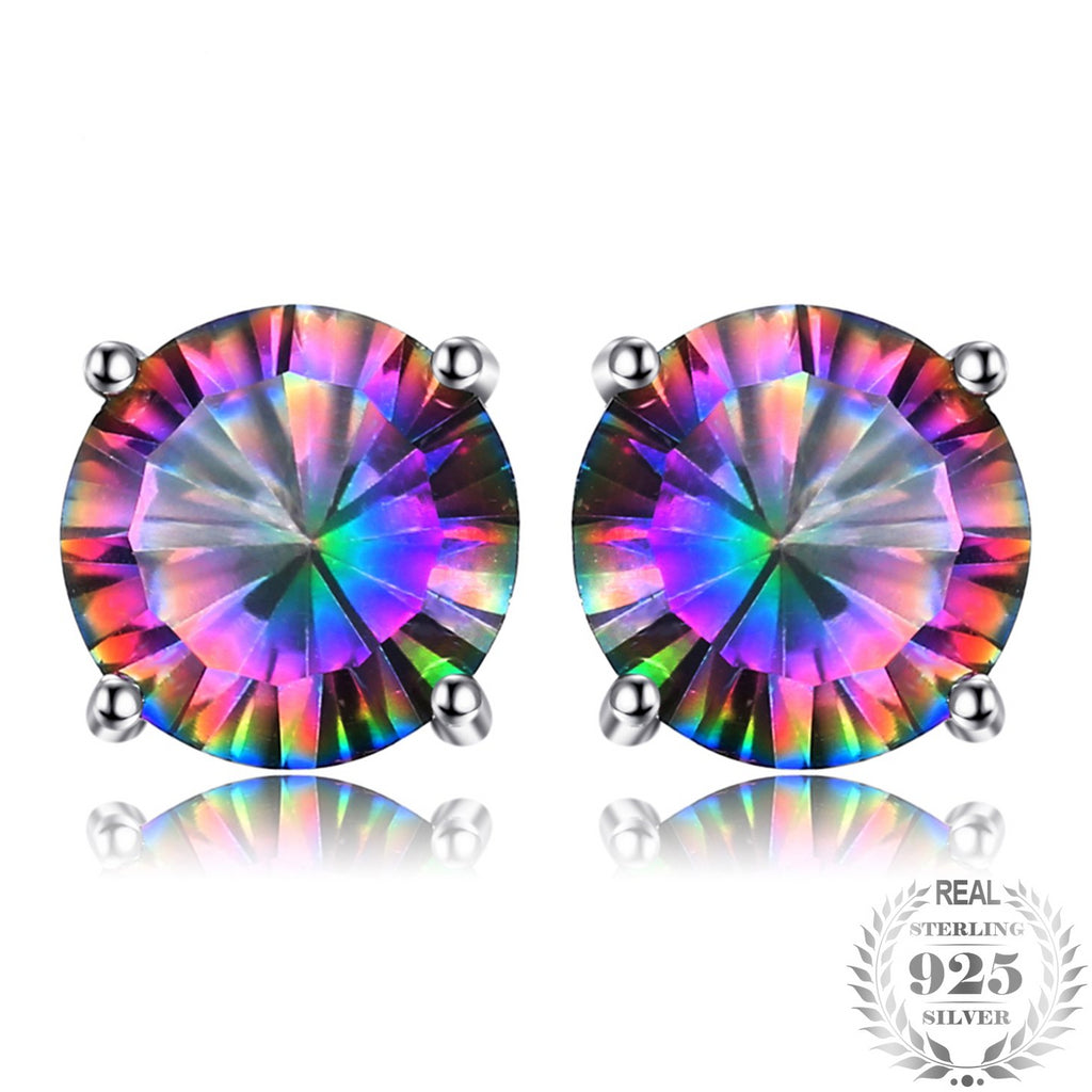 Mystic Topaz Oval Earring - Delicates By Yvonne