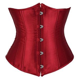 Under-Bust Steel Boned Corset - Delicates By Yvonne