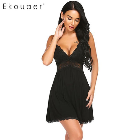 Lace Detailed Nightdress