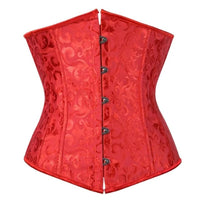 Under-Bust Steel Boned Corset for Curvy Women - Delicates By Yvonne