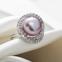 Pearl Adjustable Ring - Delicates By Yvonne