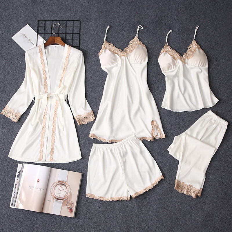 Chi 4-Pcs Nightwear with Pants
