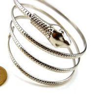 Coiled Snake Spiral Bracelet - Delicates By Yvonne
