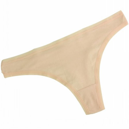 Plus-Sized Cotton Thong - Delicates By Yvonne