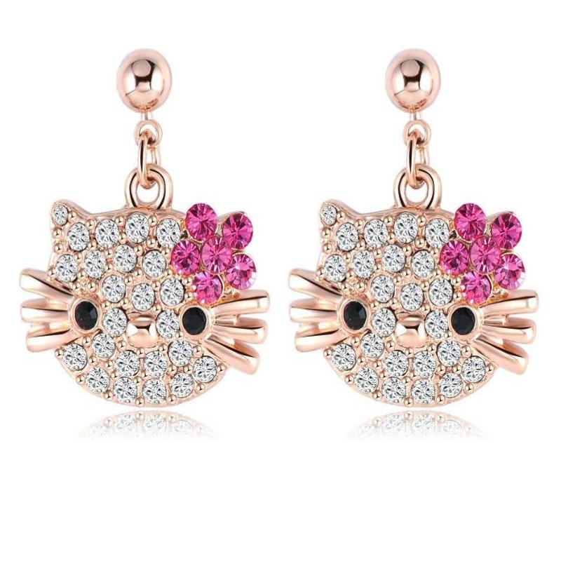 Lovely Cat Stud Earring - Delicates By Yvonne