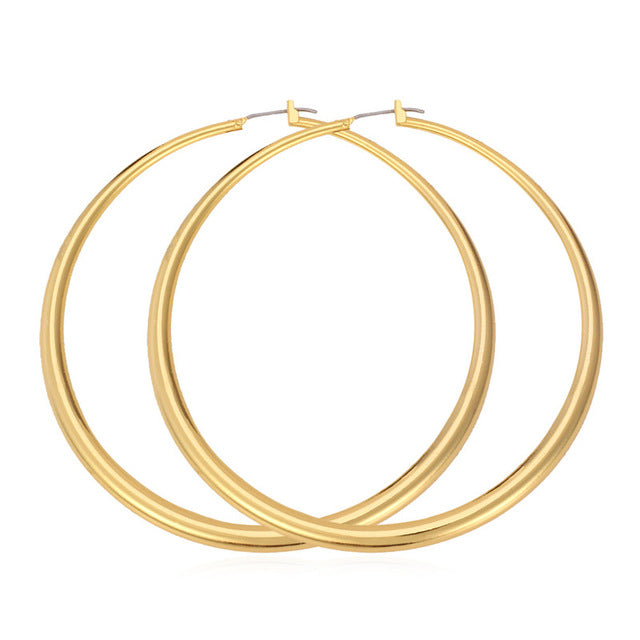 Large Hoop Earrings - Delicates By Yvonne