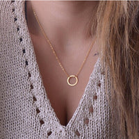 Minimalist Chain Necklace - Delicates By Yvonne