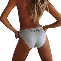 Easy Tiger Mid-Rise Briefs - Delicates By Yvonne