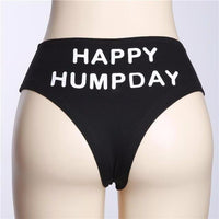 Humpday Mid-Rise Thong - Delicates By Yvonne