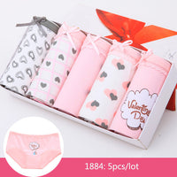 Multi Cotton Briefs (5pcs) - Delicates By Yvonne