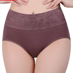 High-Waist Seamless Cotton Underwear - Delicates By Yvonne