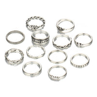 Charm Midi Finger Ring Set - Delicates By Yvonne