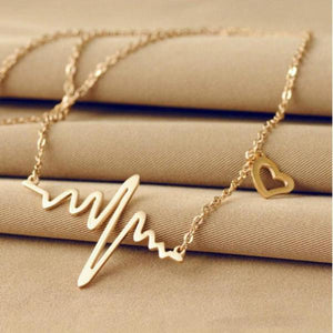 EKG Chain Necklace - Delicates By Yvonne
