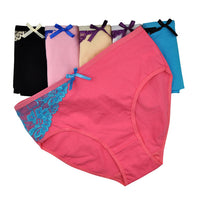 6pcs Cotton High Waist Briefs - Delicates By Yvonne