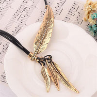 Collier Femme Feather Necklace - Delicates By Yvonne