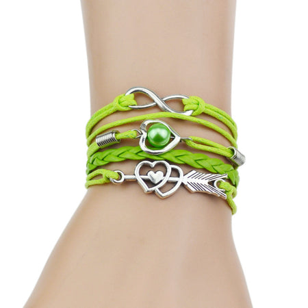 Infinity Braid Charm Bracelet - Delicates By Yvonne
