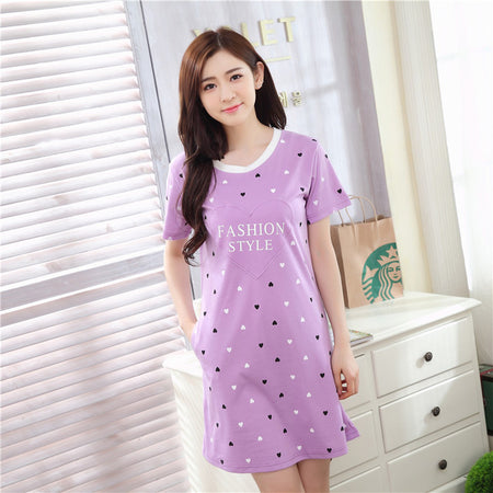 Sweet Girl Lounge Nightdress - Delicates By Yvonne