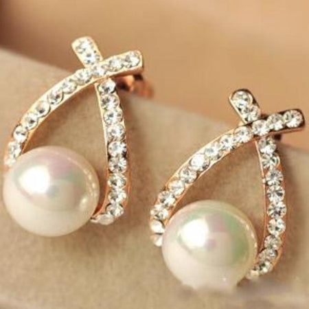 Pearl Stud Earrings - Delicates By Yvonne