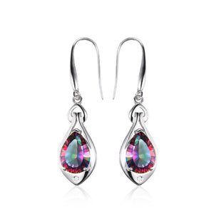 Mystic Topaz Dangle Earring - Delicates By Yvonne