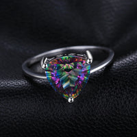 Mystic Topaz Triangle Ring - Delicates By Yvonne