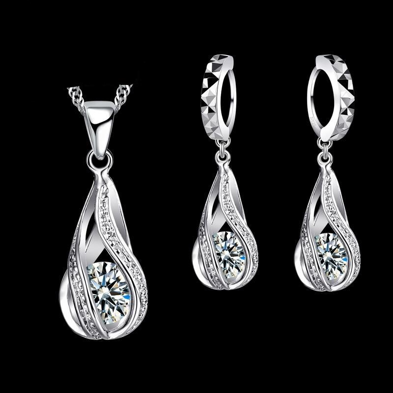 Jexxi Silver Jewelry Set - Delicates By Yvonne