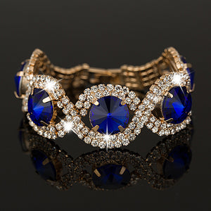 Royal Rhinestone Bracelet - Delicates By Yvonne