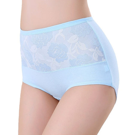 High Waist Cotton Briefs - Delicates By Yvonne