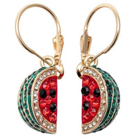 Watermelon Drop Earring - Delicates By Yvonne