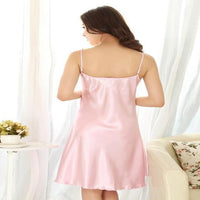 Silk Satin Babydoll Nightdress - Delicates By Yvonne