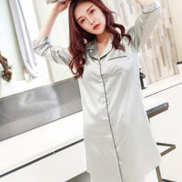 BF Style Lounge Sleep Shirt - Delicates By Yvonne