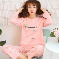 Cotton Long Sleeve Pyjamas 3 - Delicates By Yvonne