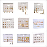 Various Style Stud Earrings Set - Delicates By Yvonne