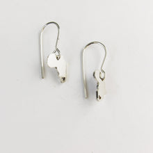 Africa drop earring by Durban jeweller, sold online